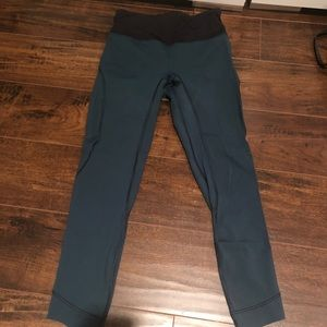 Lulu lemon leggings- teal